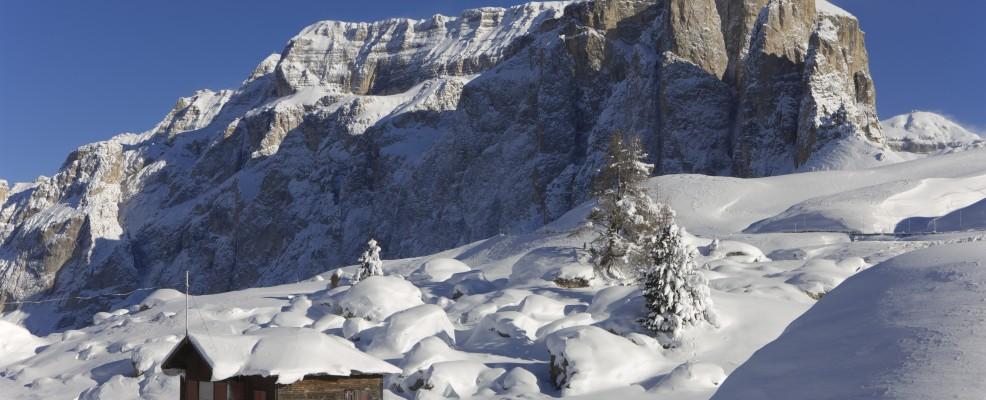 Selva di Val Gardena, dintorni di Passo Sella (Foto © Nicola Angeli /Sopa RF /Sopa /Corbis)