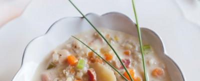 zuppa d'orzo ricetta