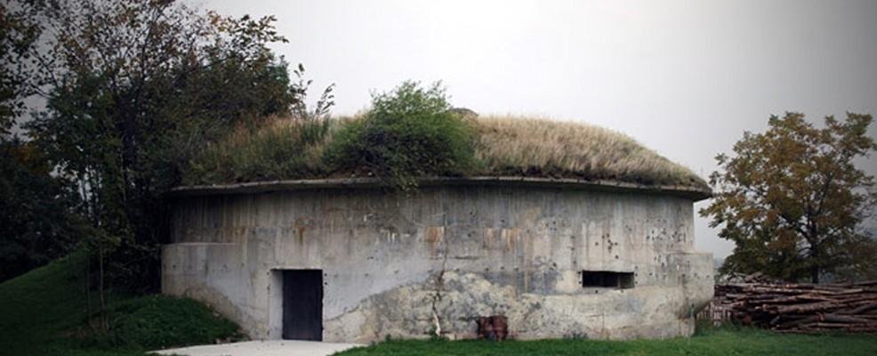 uno dei bunker utilizzati per l'invecchiamento