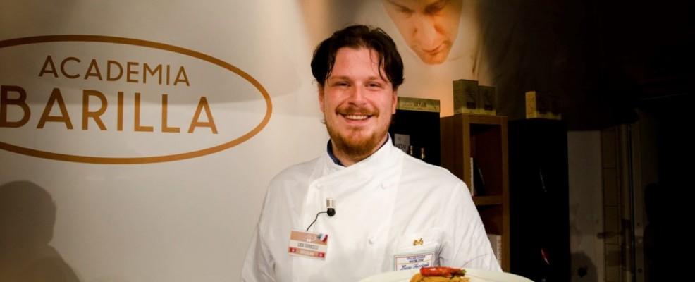 Luca Torricelli - Spaghetti con gamberi rossi di Sicilia al Mojito