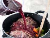 brasato al vino rosso Sale&Pepe step