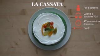 La cassata siciliana