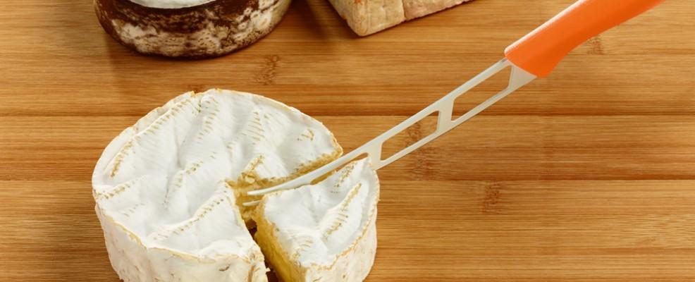 Coltello professionale per tagliare formaggi teneri