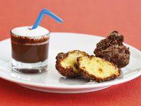 frittelle di frutta con zuppetta di cioccolato Sale&Pepe ricetta