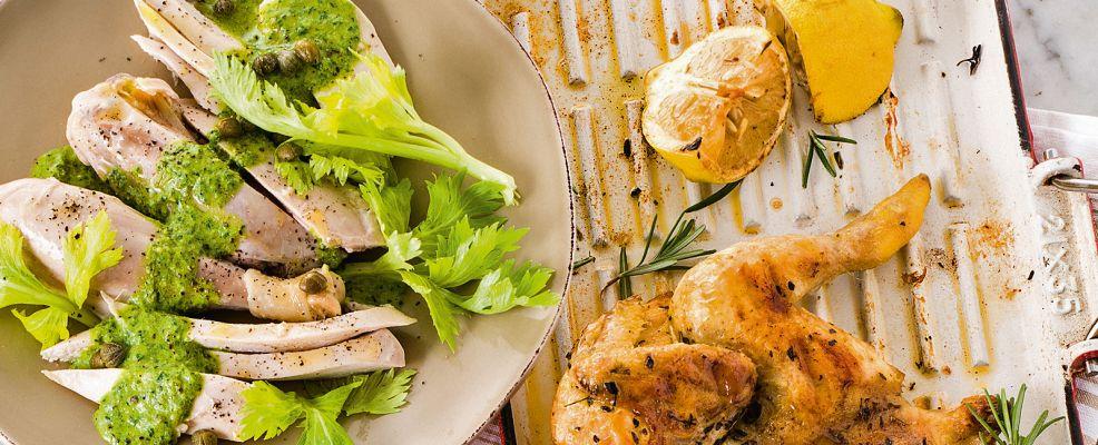 gallina fredda in salsa verde Sale&Pepe ricetta