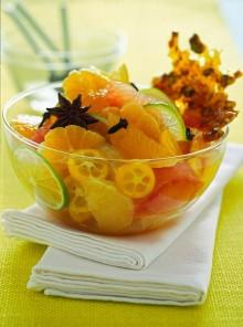 L'insalata di agrumi speziata