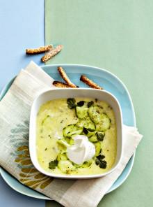 Zuppa di cetrioli, leggerezza finlandese