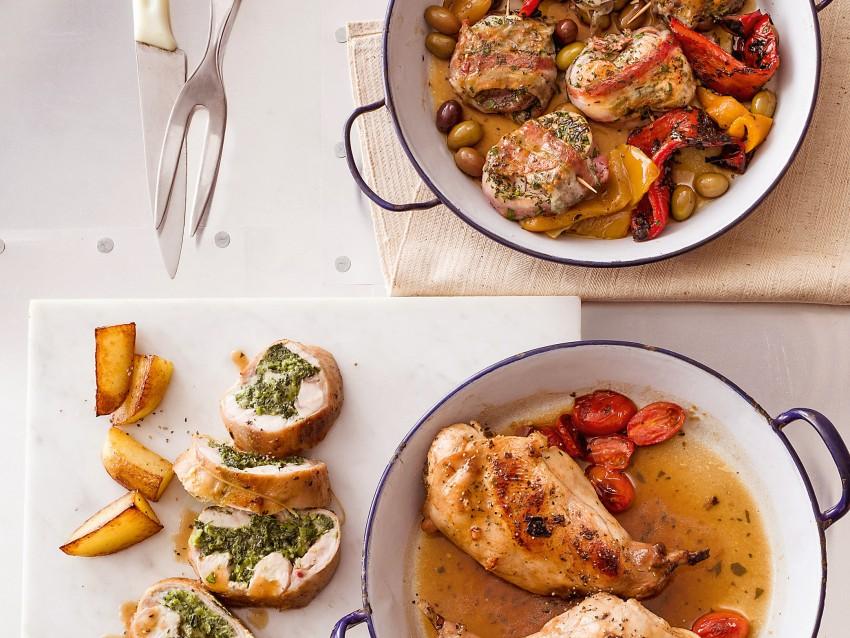 lombatine in porchetta con le olive Sale&Pepe ricetta