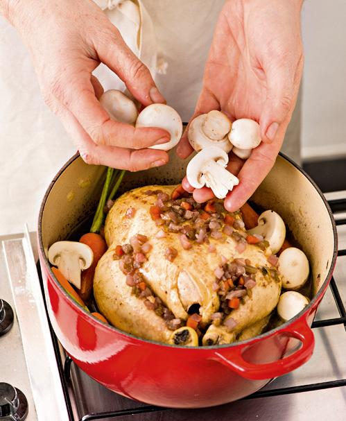 pollo intero in casseruola Sale&Pepe foto