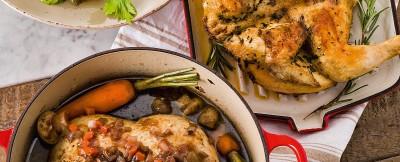 pollo intero in casseruola ricetta