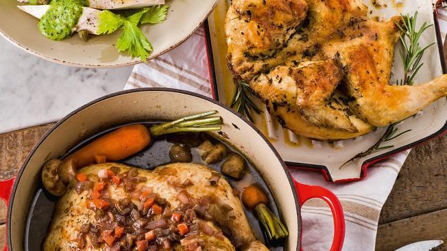 pollo intero in casseruola Sale&Pepe ricetta