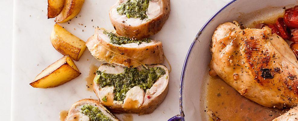 rotolo di coniglio alle bietoline Sale&Pepe ricetta