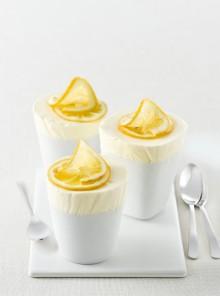Soufflé gelato cremoso al limone