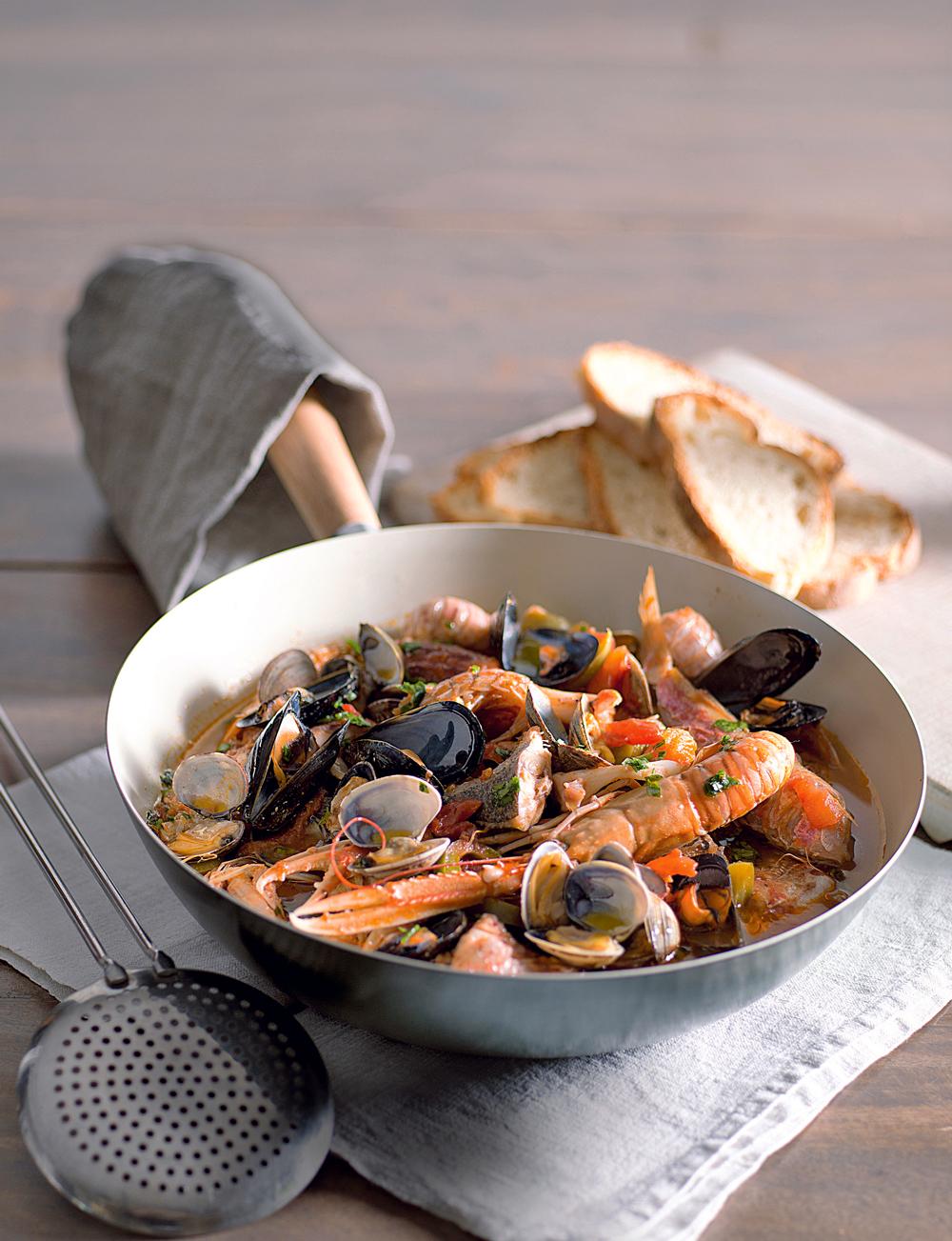 Zuppa di pesce alla termolese sale pepe for Ricette primi piatti originali