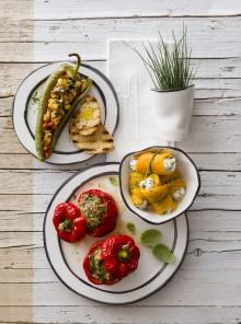 Peperoni ripieni di verdure