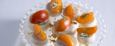 Tartellette-arachidi-albicocche- rosmarino