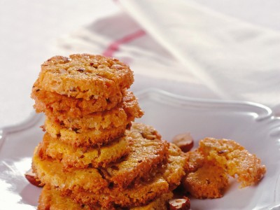 biscotti di mais e nocciole ricetta