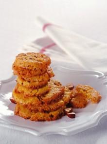 I biscotti di mais e nocciole