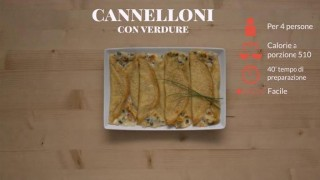 I cannelloni con verdure