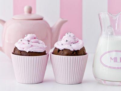 Muffin al cioccolato-crema-burro