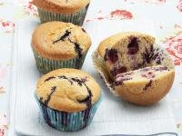 Muffin allo yogurt e mirtilli 1