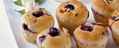 Muffin salati al rosmarino