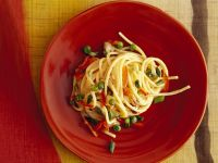 Spaghetti- carbonara- vegetariana