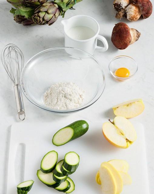 fritto misto alla piemontese Sale&Pepe preparazione