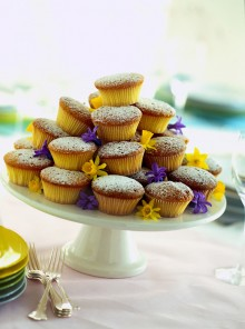 Muffin allo yogurt e panna