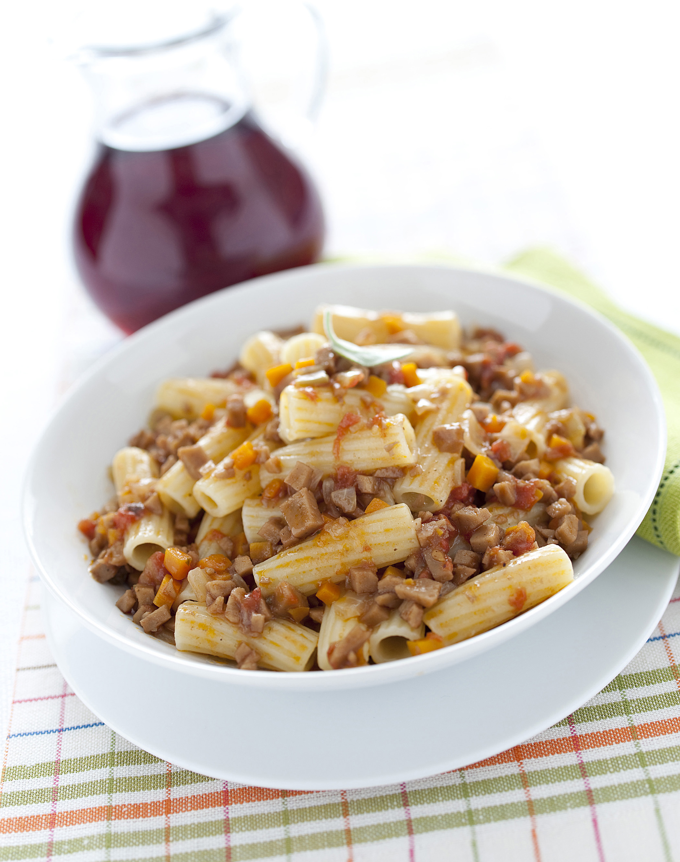 Rag vegetariano al seitan sale pepe for Cucinare vegetariano
