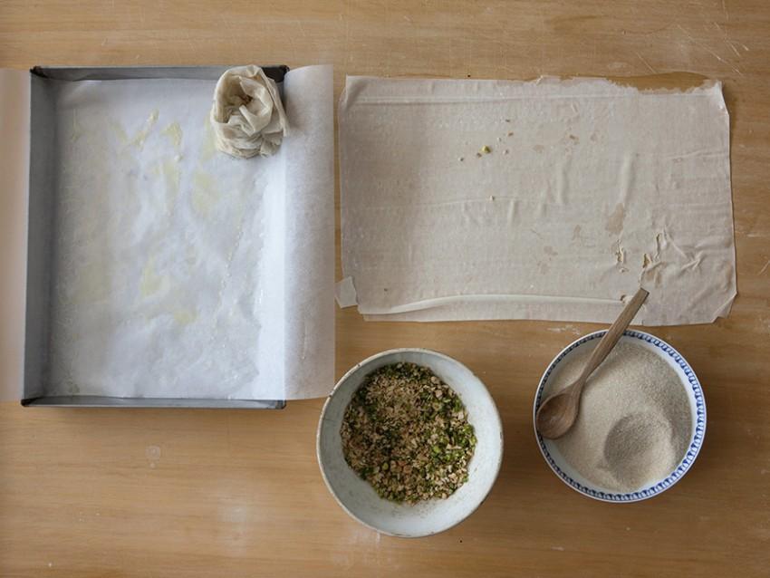 foto rose di pasta fillo alla frutta secca Sale&Pep