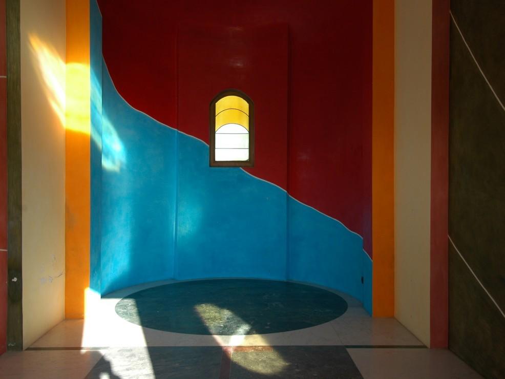 Cappella di Barolo, interni di David Tremlett