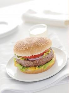 Hamburger classico all'americana