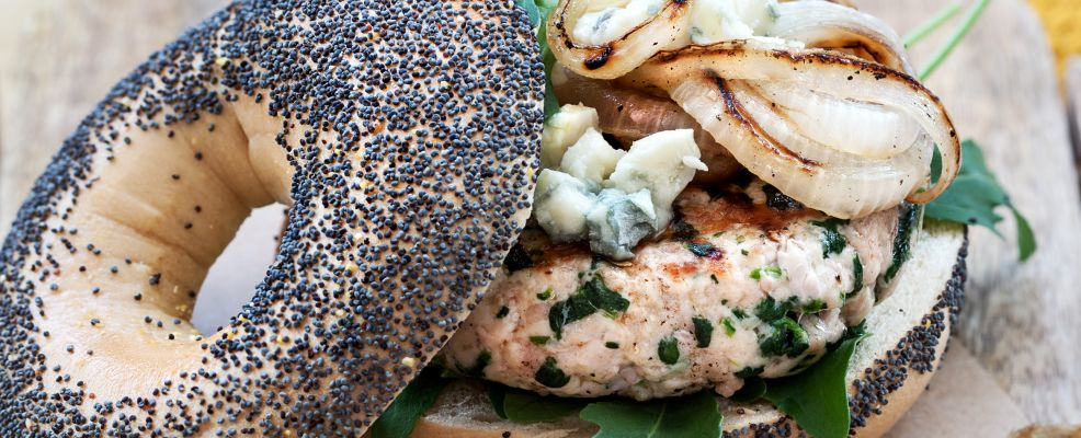 Hamburger di vitello formaggio e spinaci Sale&Pepe