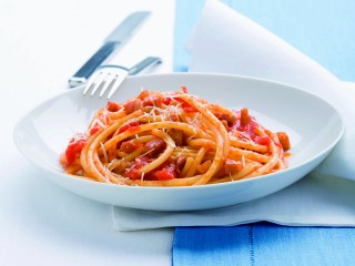 bucatini amatriciana Sale&Pepe
