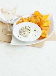 Chips croccanti di polenta