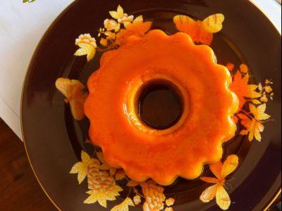 crème caramel alla zucca e alla liquerizia ricetta