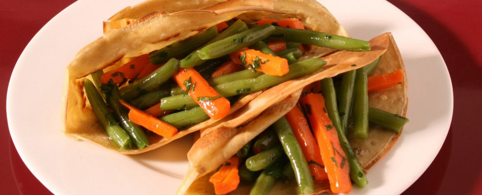 crepe fagiolini carote