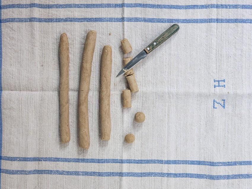 gnocchi di castagne e ricotta al ragù di coniglio Sale&Pepe step
