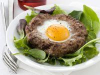 hamburger al forno con uova Sale&Pepe