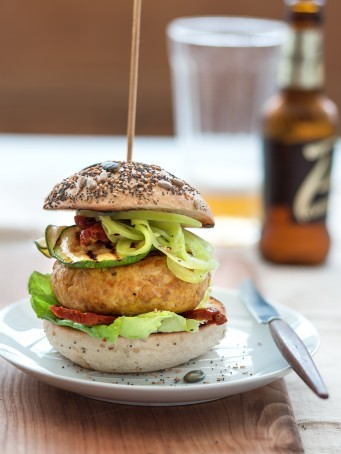 hamburger con zafferano e verdure Sale&Pepe