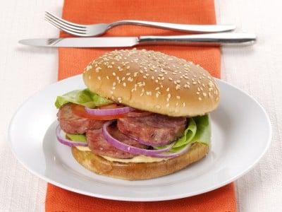 hamburger di cotechino