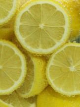 Lemon Halves in Water