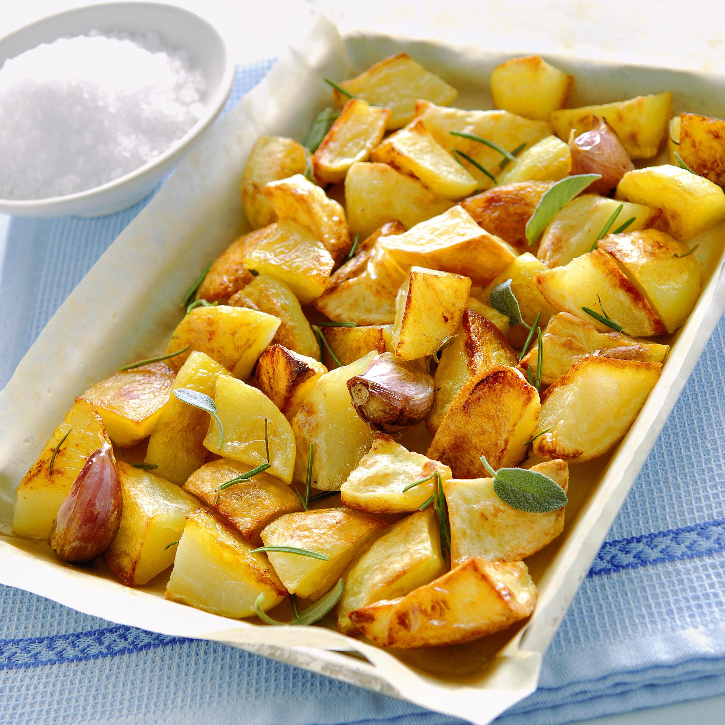 Come cucinare le patate al forno croccanti sale pepe for Cucinare arrosto