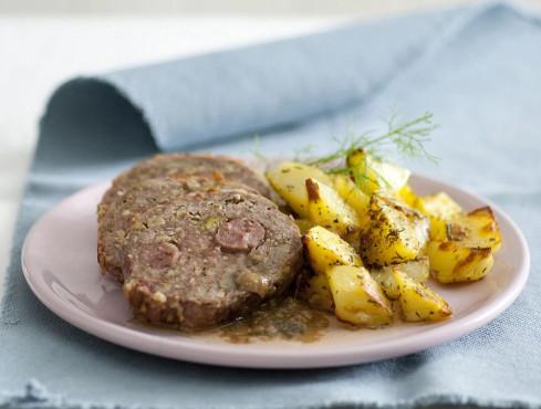 polpettone-salsiccia-arrosto
