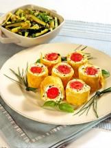 sushi di frittata e zucchine Sale&Pepe