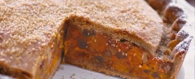 torta zucca e amaretti halloween