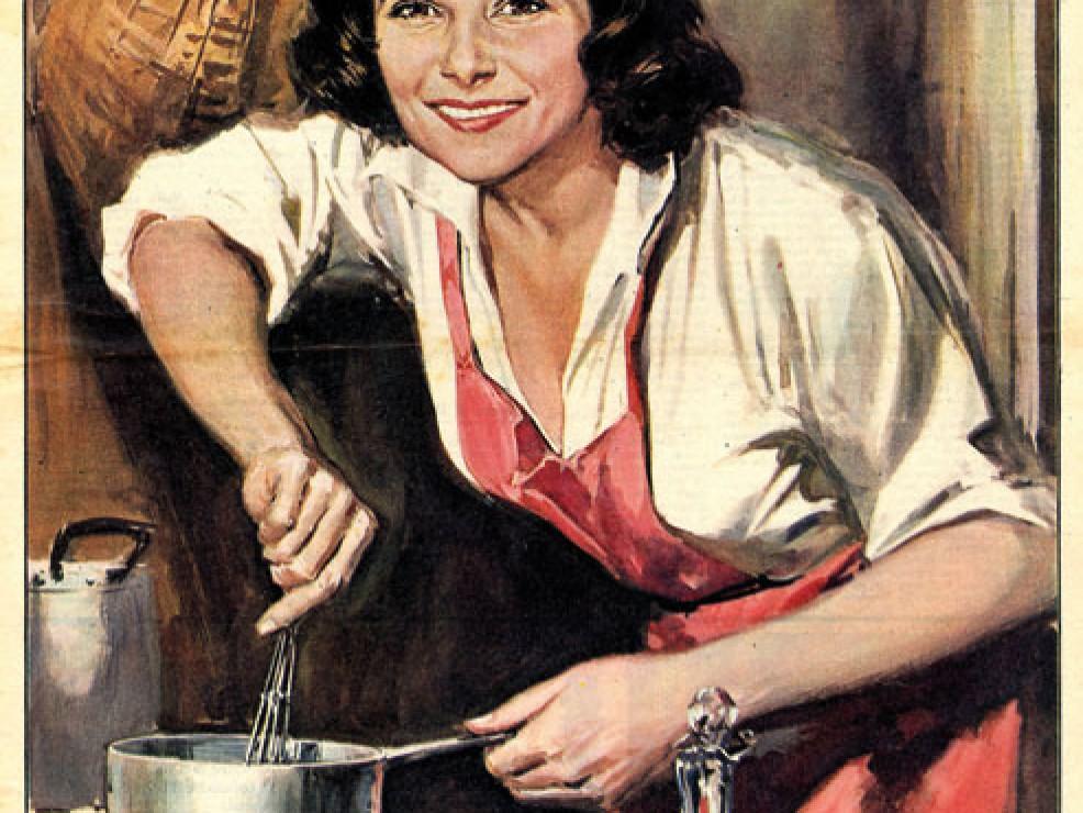 Domenica del Corriere. Illustrazione di Walter Molino - 1958