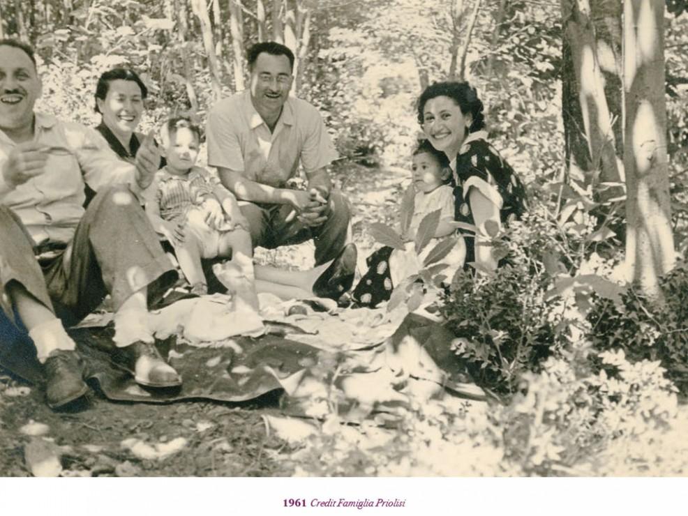 Foto del 1961. Credit: Famiglia Priolisi