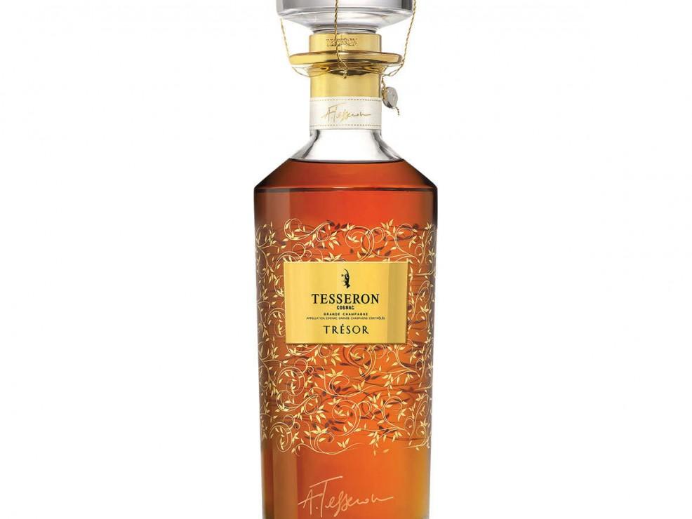 7) Trésor, 100 cognac insieme